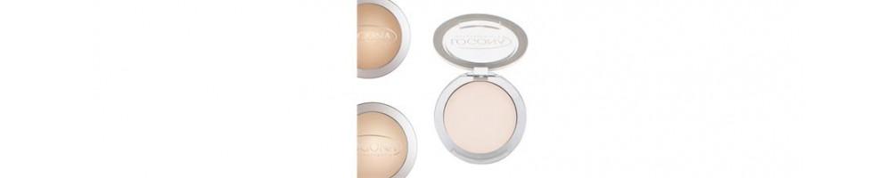 Maquillaje en polvo compacto